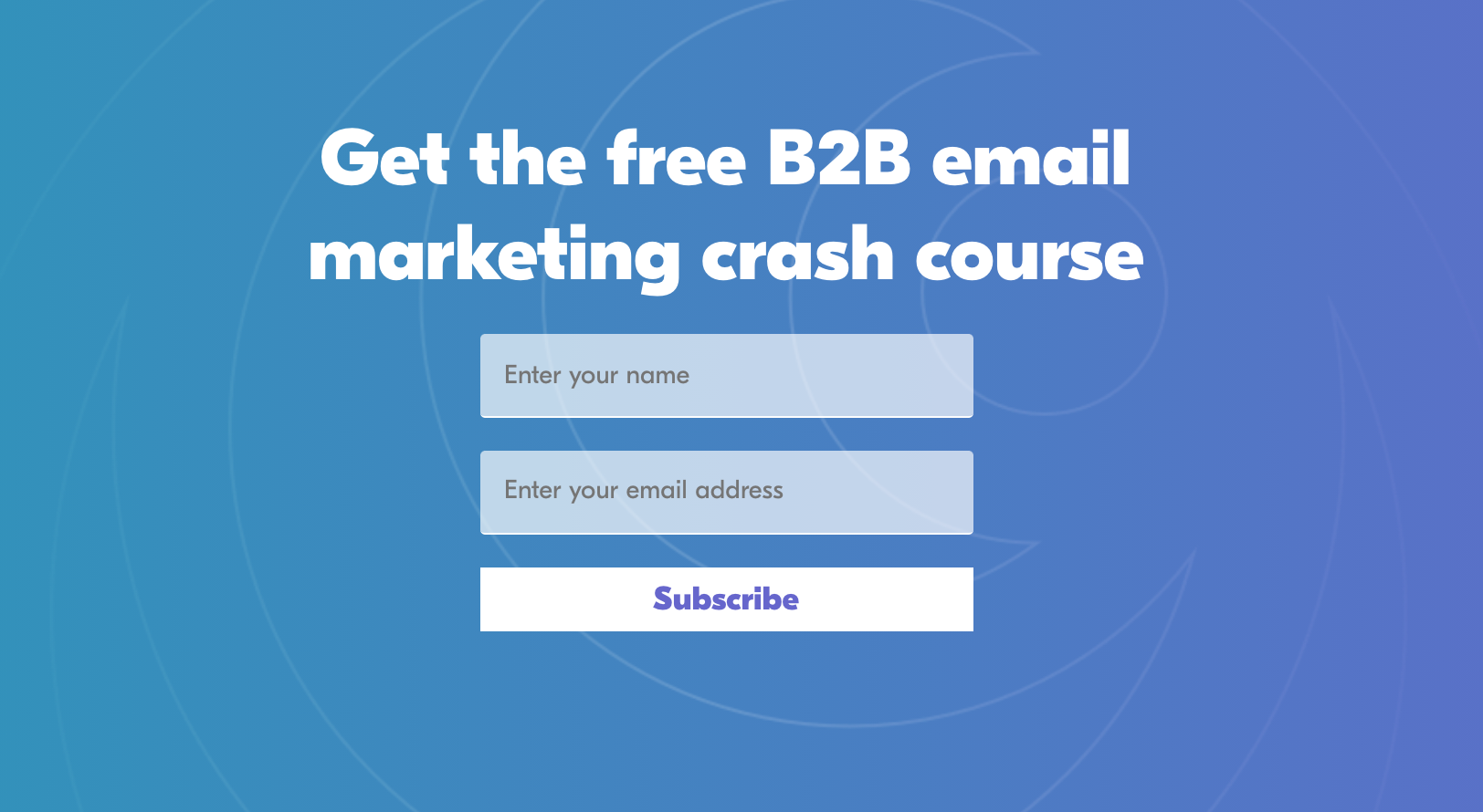 email crash course